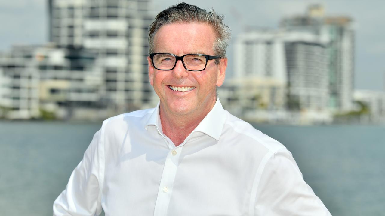 Maroochydore Chamber president Brendan Bathersby. Photo: John McCutcheon
