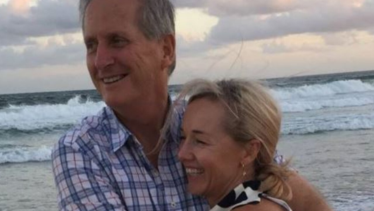 Tim, 70, and Julie Hudson, 52, who were well-known in the Queensland aviation industry, rented a light plane on January 22 for a journey from Caloundra to Tangalooma.
