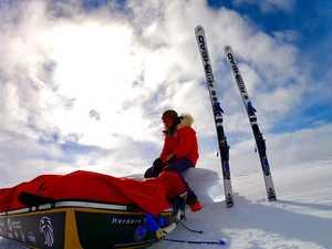 Adventurer's solo trek to the bottom of the world