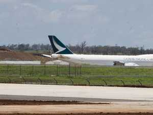 Why Cathay Pacific 747 remains at Wellcamp Airport