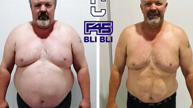 'I feared I'd be next in the grave': Dad's incredible weight loss