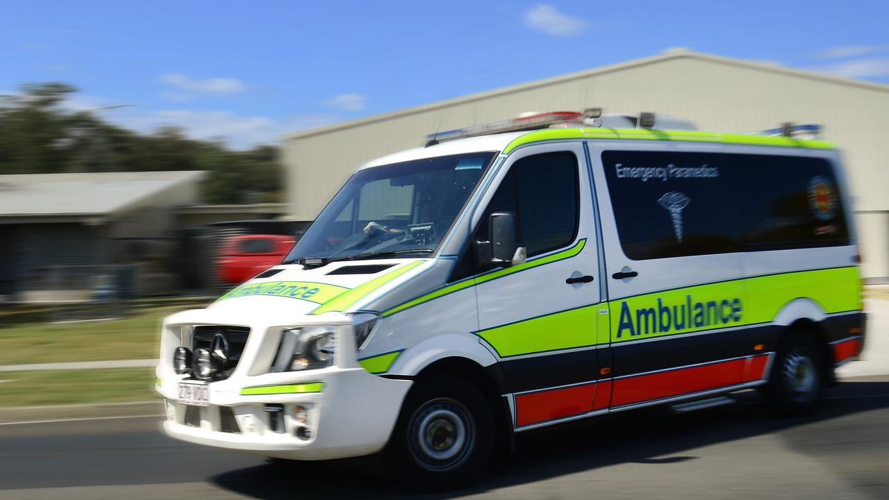 A man has been treated by paramedics after a workplace incident at Heathwood.