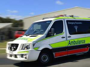 Man injured after gates fall from truck
