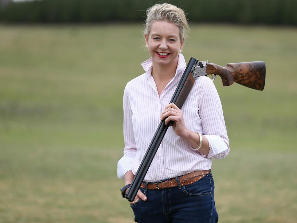 Nationals Senator Bridget McKenzie is herself in the firing line. Photo: Alex Ellinghausen
