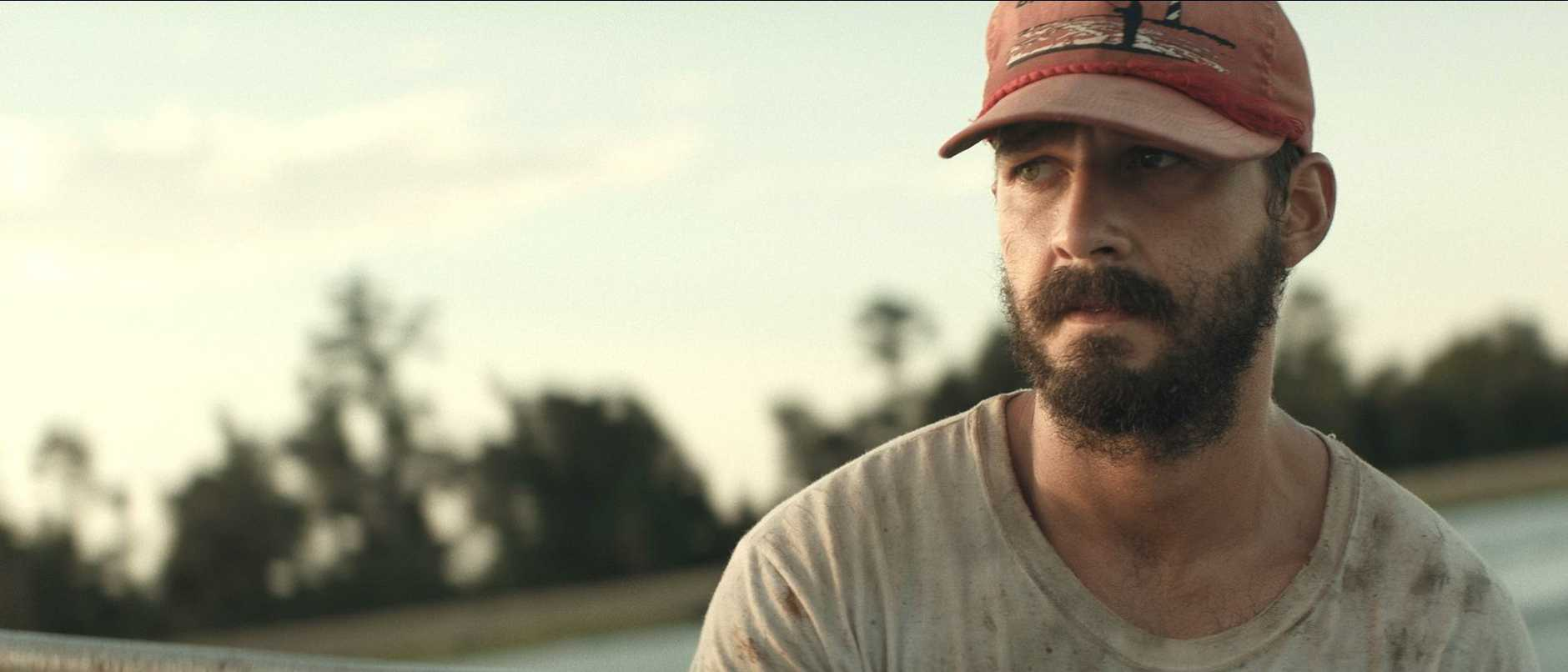 Shia LaBeouf in The Peanut Butter Falcon.