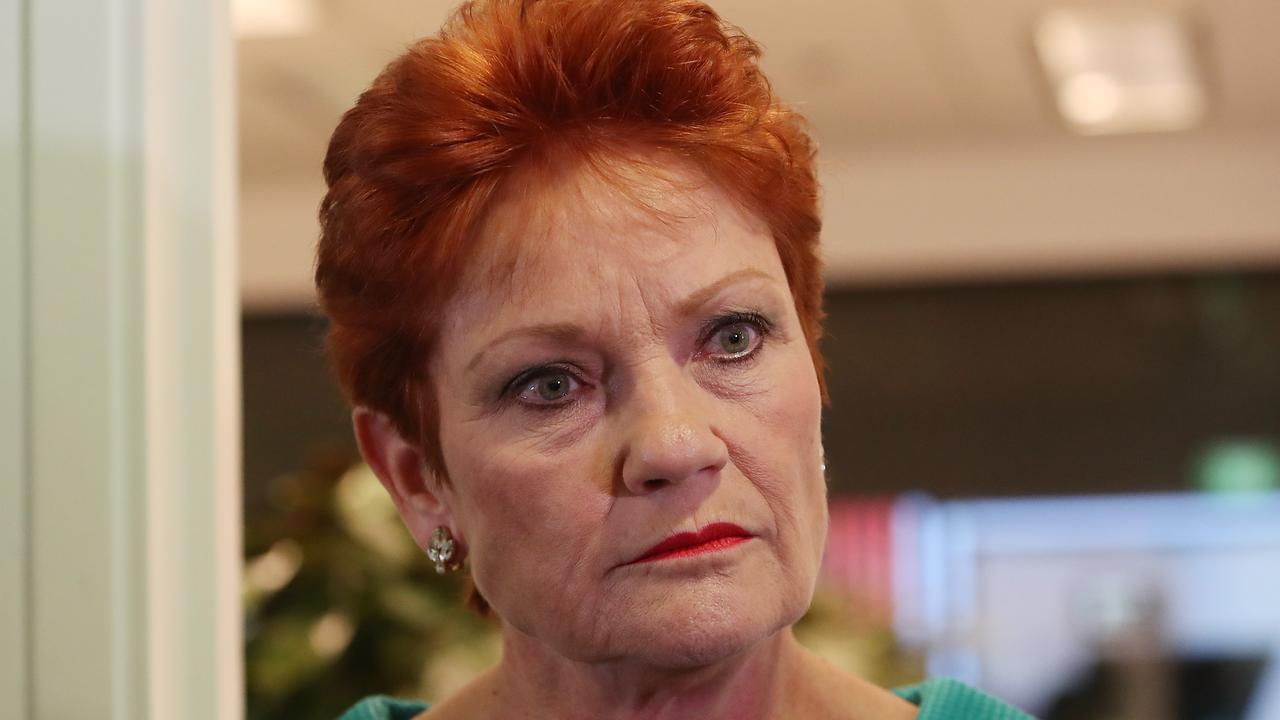 REBUKE: Senator Pauline Hanson's opposition to the 2032 Brisbane Olympics bid has drawn criticism from regional mayors. Picture: Kym Smith