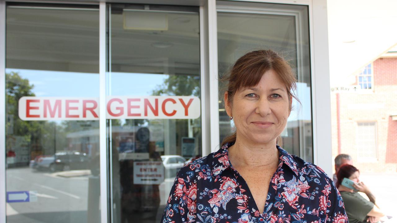 Katrina Short, graduate nurse at Grafton Base Hospital.