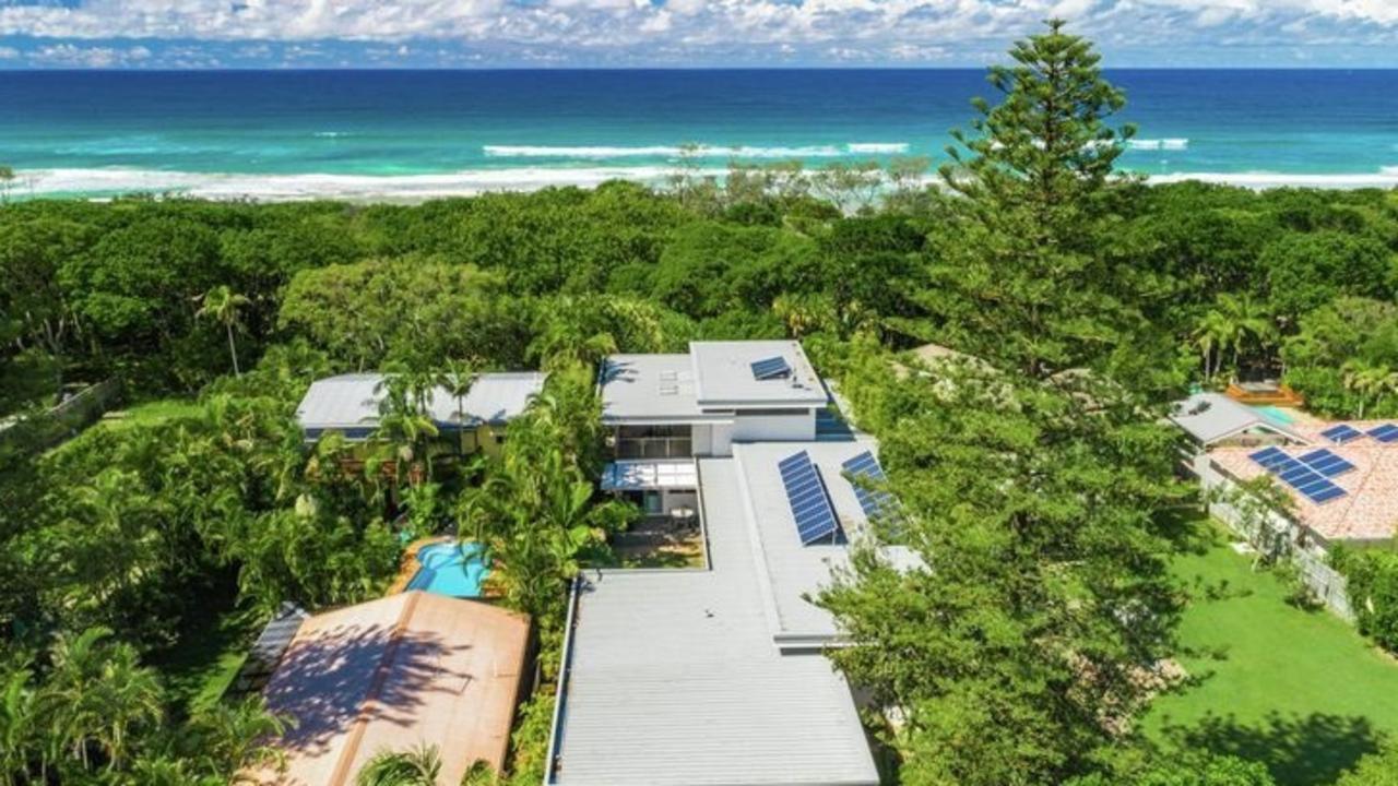 This Suffolk Park beachfront mansion sold for $4 million.