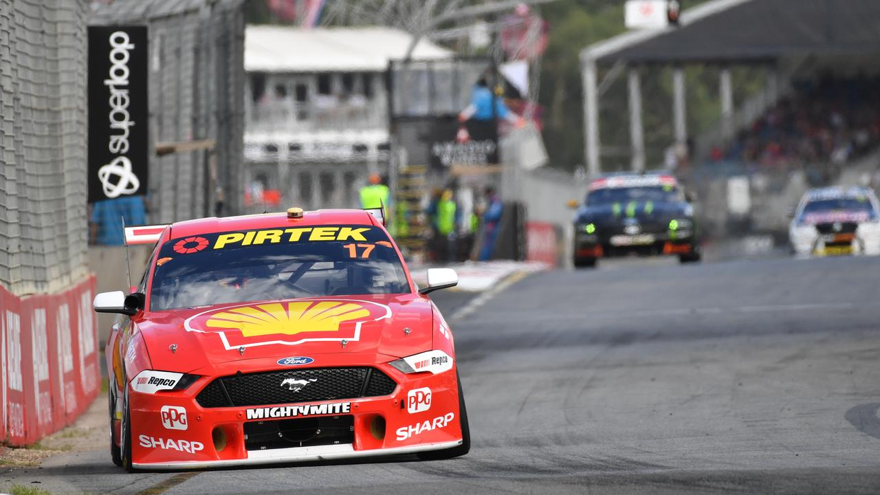 Scott McLaughlin from Shell V Power Racing during the Superloop Adelaide 500 at the Adelaide Street Circuit in Adelaide on March 3, 2019. Picture: AAP Image/David Mariuz