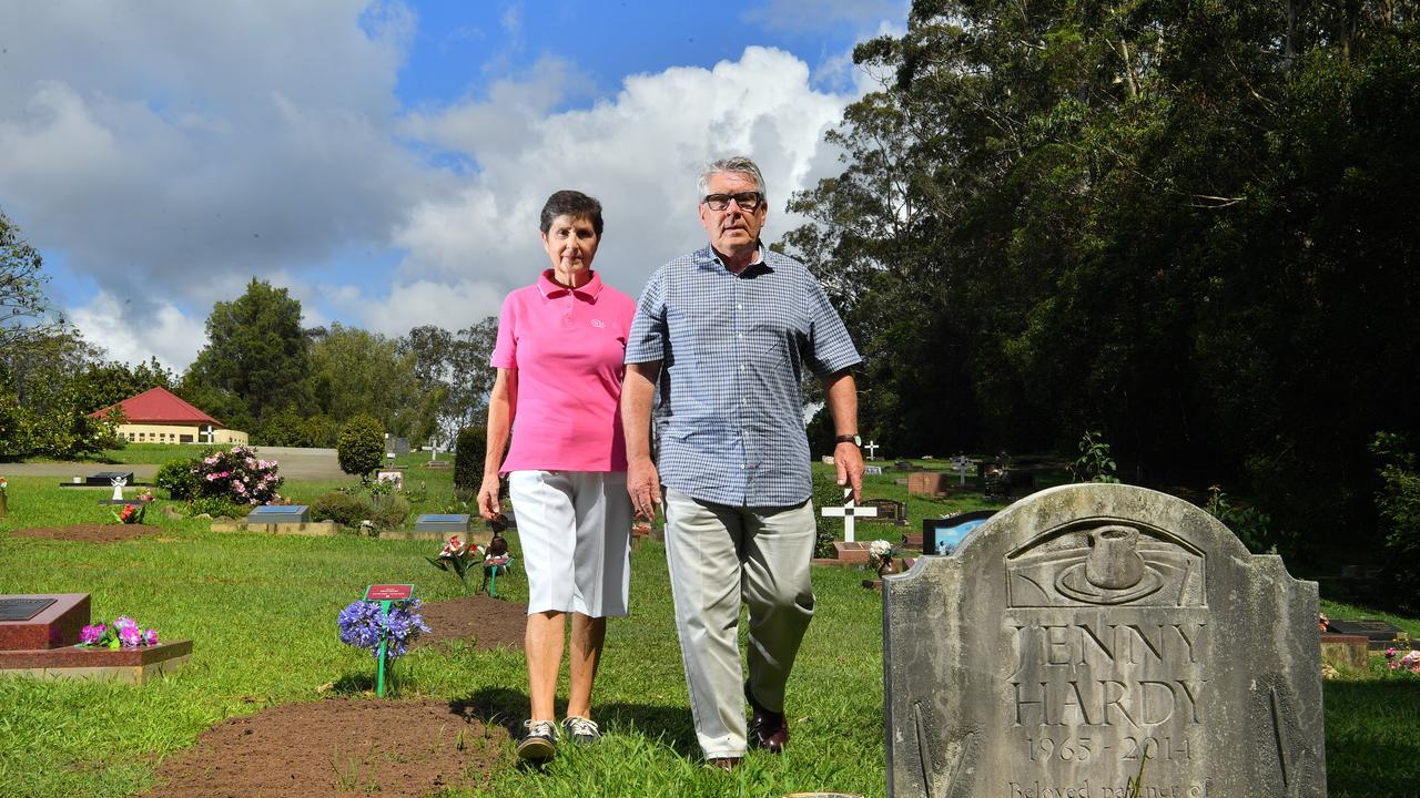 Alan and Brigitte McCleary have raised their concerns with the Sunshine Coast Council after a distressing incident at Witta Cemetery. Photo: John McCutcheon / Sunshine Coast Daily