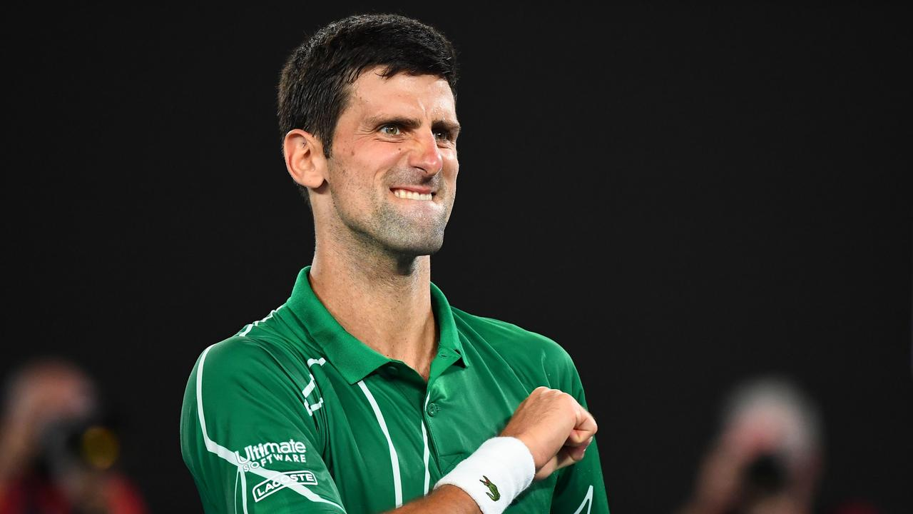 Novak Djokovic goes in the Australian Open final a hot favourite.