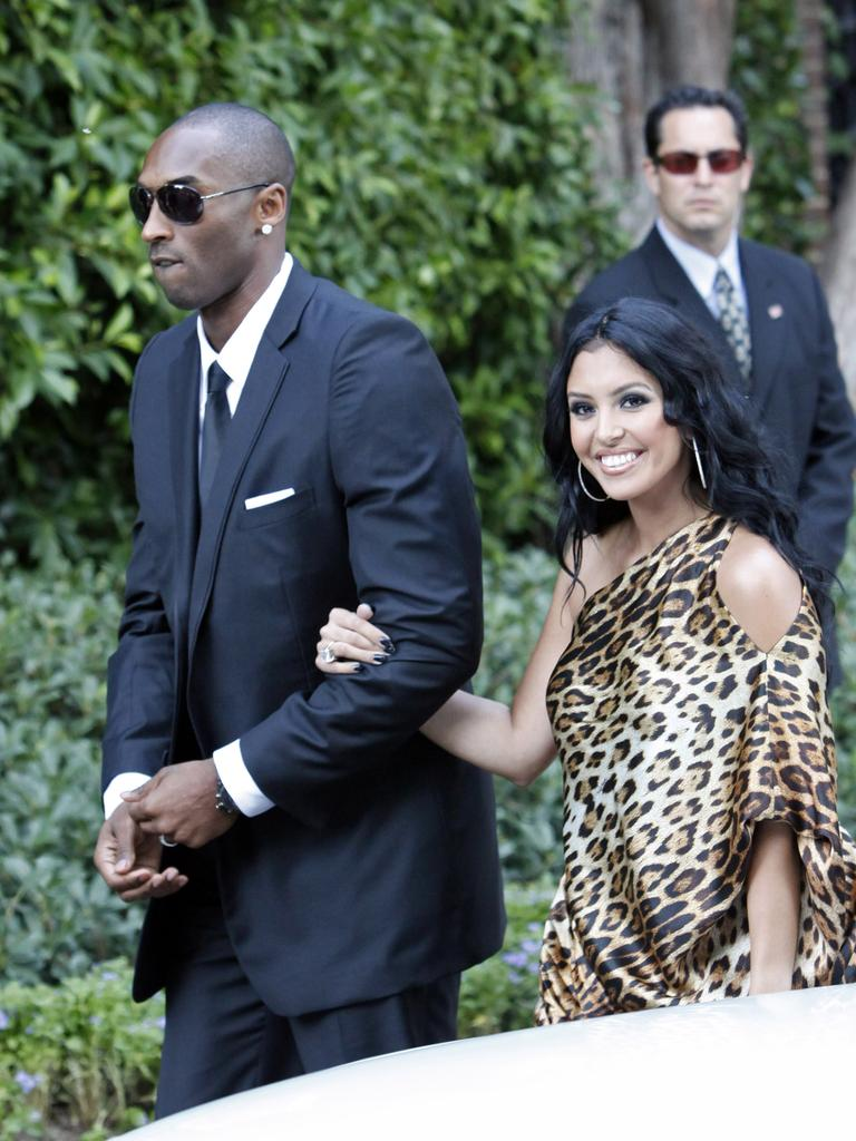 At the wedding of Khloe Kardashian and LA Lakers forward Lamar Odom. Picture: Jean Baptiste Lacroix/WireImage