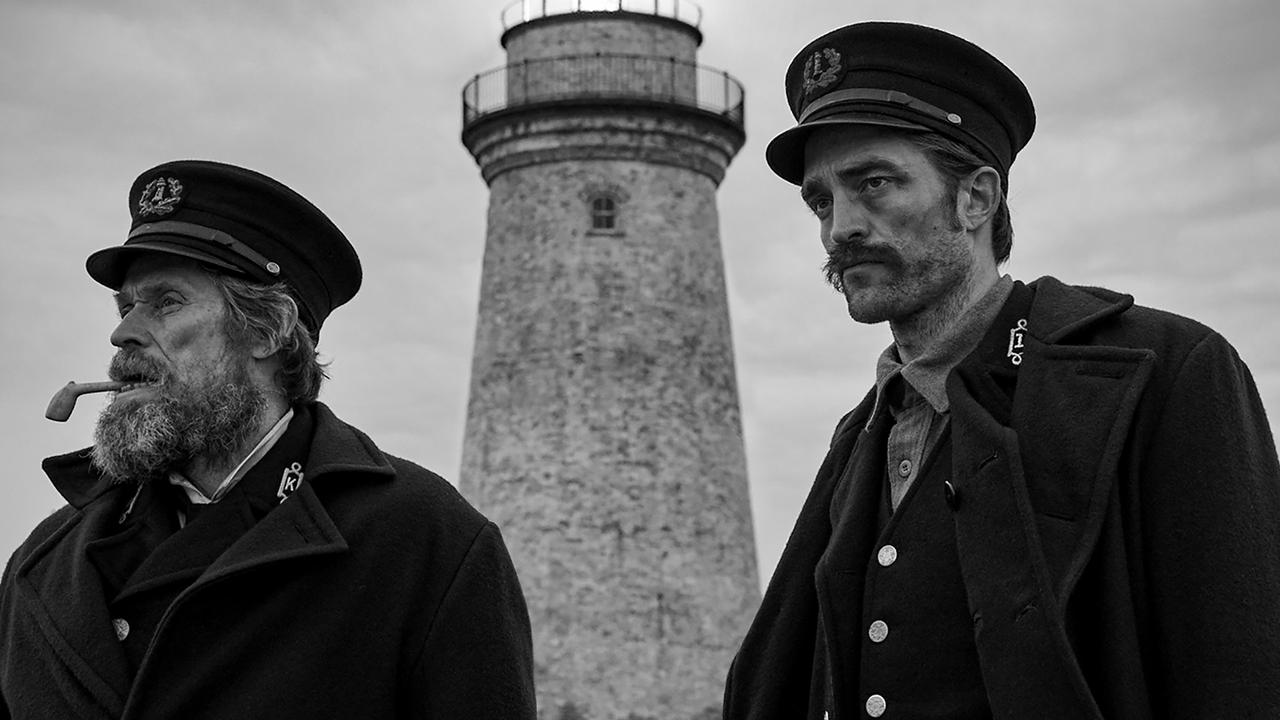 Willem Dafoe and Robert Pattinson in The Lighthouse.