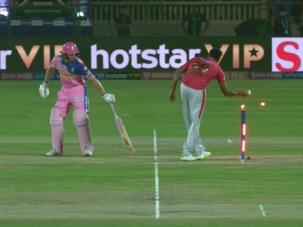 Ravi Ashwin copped plenty of criticism for his Mankad last March.