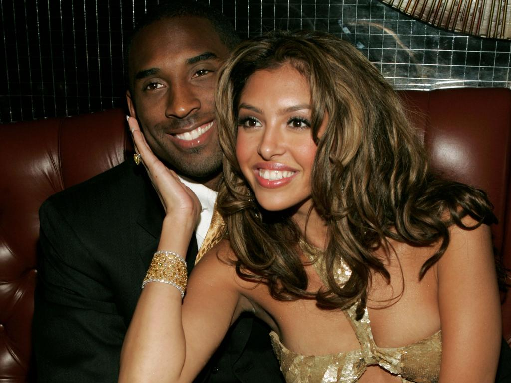 Kobe and Vanessa at the official after-party for the 2004 World Music Awards. Picture: Frank Micelotta/Getty Images