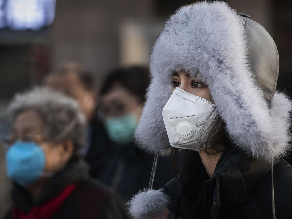 Chinese officials have faced criticism for their slow response to the virus. Picture: Kevin Frayer/Getty Images.
