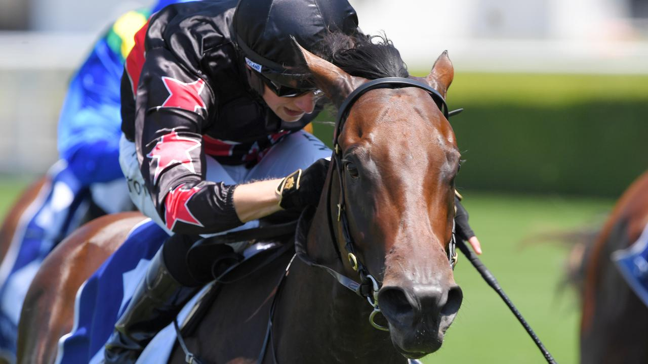 Magic Millions winner Away Game added the Widden Stakes to her record at Randwick. Picture: AAP