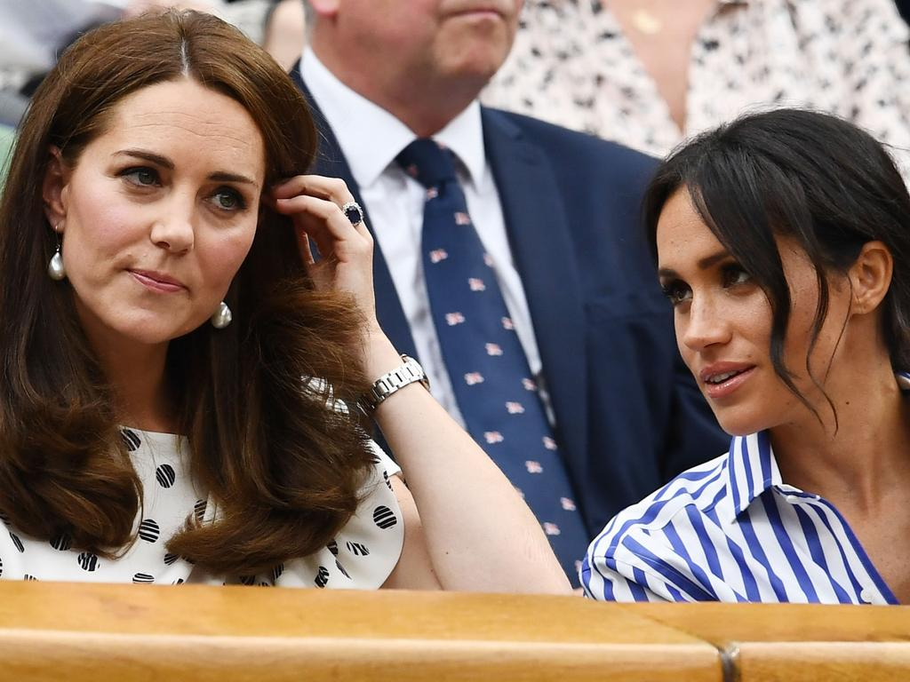 Catherine, Duchess of Cambridge, is reportedly not close to Meghan, Duchess of Sussex. Picture: Getty