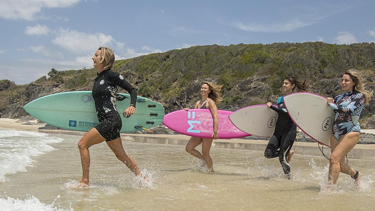Layne Beachley , Womens surfing Group , Surfing Australia.