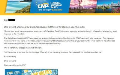 LNP emails.