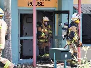 Fire in Office Building in Pialba