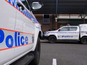 Chaotic police chase after alleged baseball bat attack