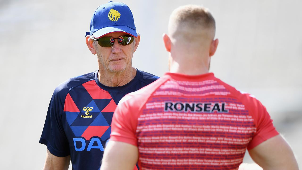 Wayne Bennett is in the dark over the future of his England coaching career. Picture: Getty Images