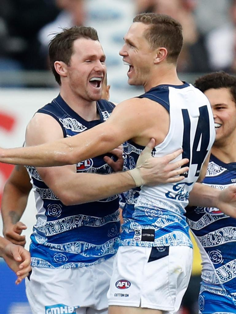 Patrick Dangerfield has been a vocal supporter of the all stars match.