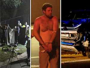 Driving 'on wrong side of road' and 'ran a red': Witnesses