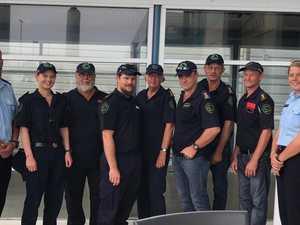 How Mackay volunteer fireys helped save NSW town