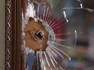 Elderly couple wake to bullet hole inside home