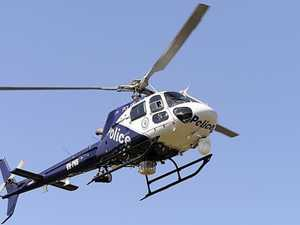 Dramatic Bruce Highway arrest after land, air pursuit