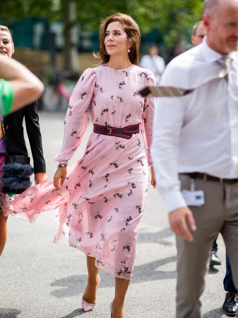 Princess Mary of Denmark at Copenhagen Fashion Week. Picture: Christian Vierig