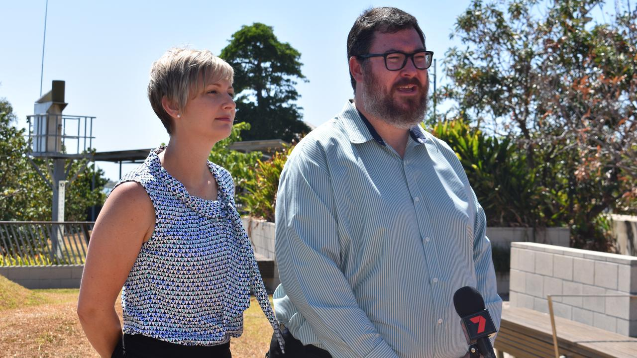 Mackay Deputy Mayor Amanda Camm and Dawson MP George Christensen support the Broken Ballerina Foundation's funding application for a DVF safe haven.