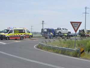 Three injured in three-vehicle Pacific Highway smash