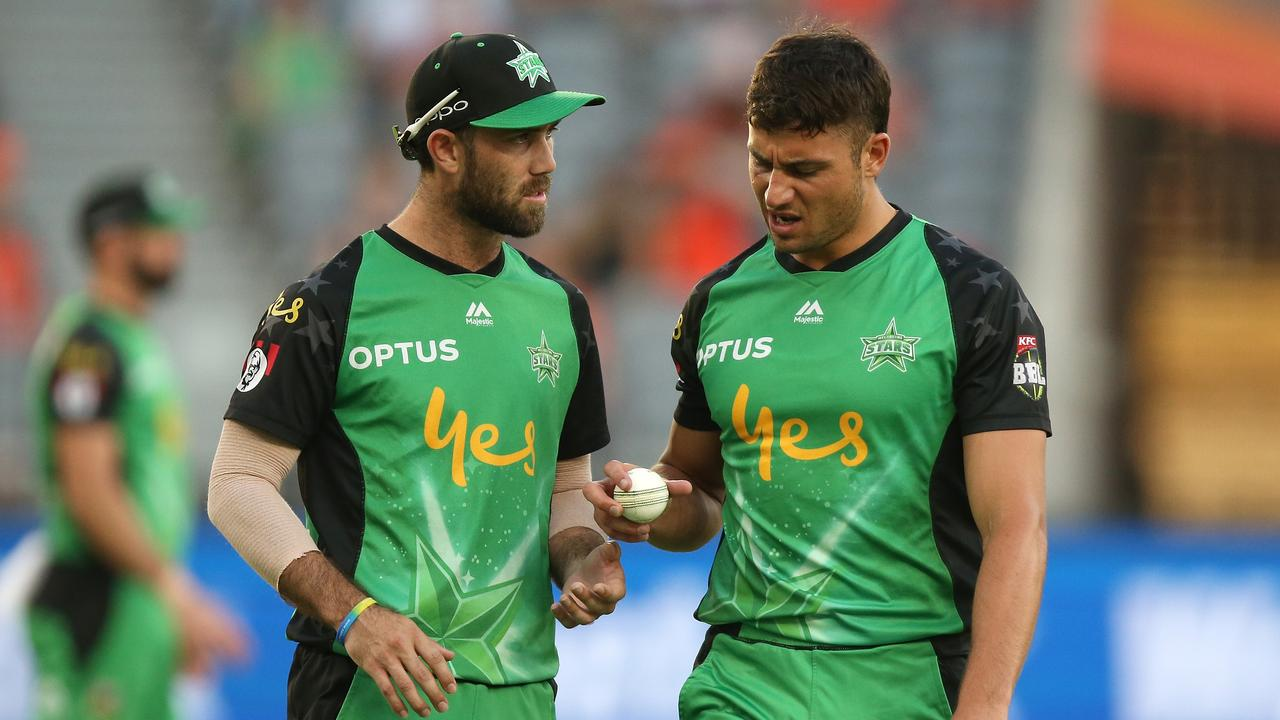 Glenn Maxwell and Marcus Stoinis both made the BBL team of the tournament. Picture: Paul Kane/Getty