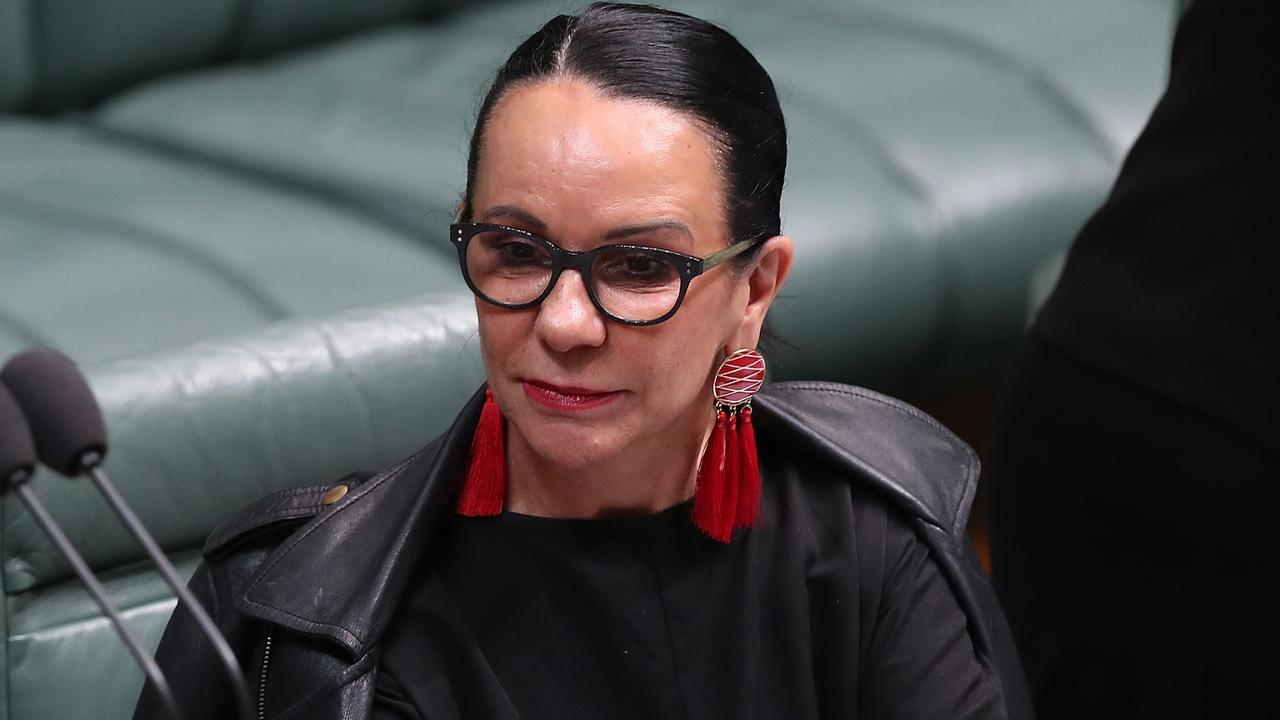Linda Burney after Question Time in the House of Representatives Chamber, at Parliament House in Canberra. Picture Kym Smith