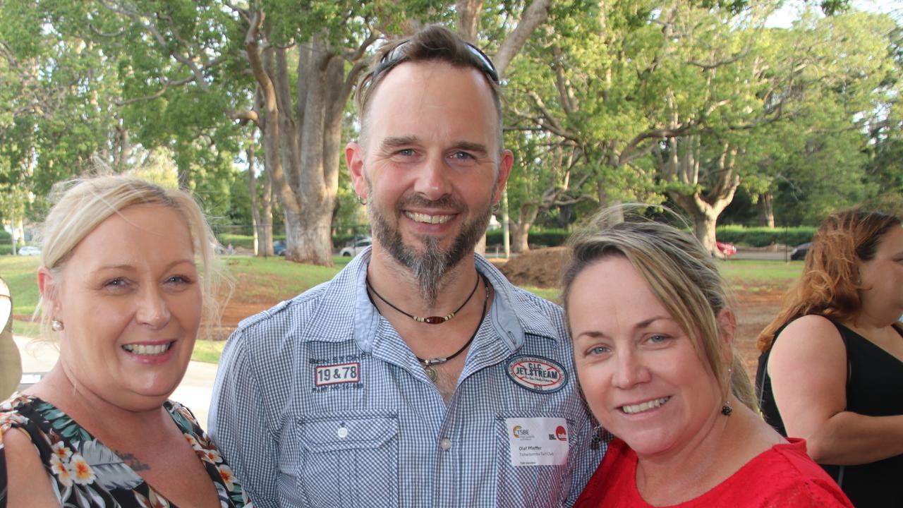 Jodi Cottier, Olaf Pfeiffer, Trudi Bartlett. Rural Centre of Excellence TSBE meet up.