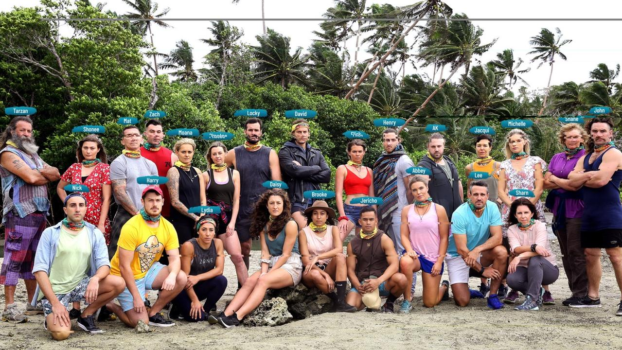 The full Survivor: All Stars cast was unveiled in tonight's episode. Picture: Channel 10.