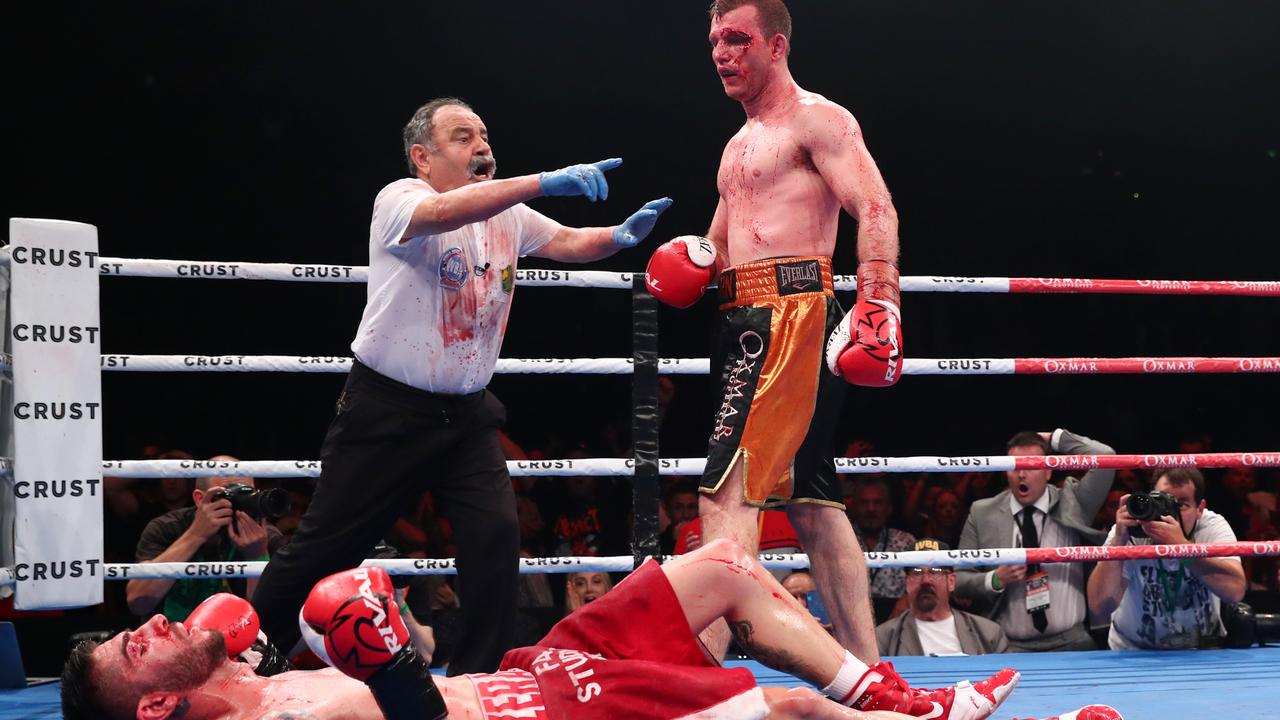 Jeff Horn says he will not be taking Tszyu lightly. Picture: Chris Hyde/Getty