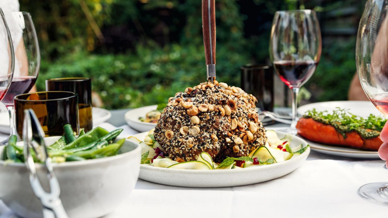 The roasted cauliflower at Chiswick Garden restaurant in Woollahra looks delicious. Picture: Steven Woodburn