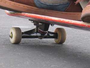 Skateboarder vs vehicle at 4am