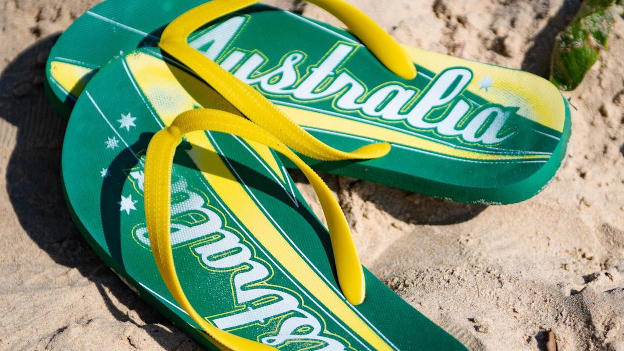 australia day thongs. 25 JAN 2019