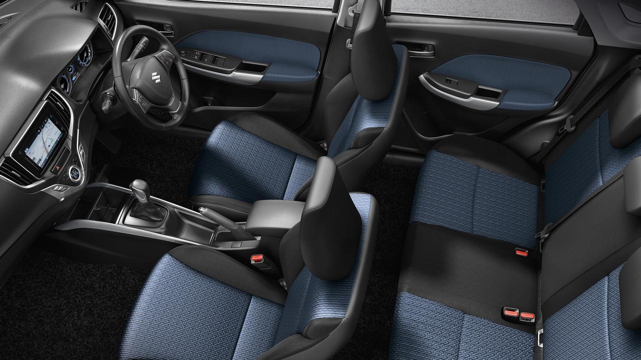 Suzuki updated its Baleno compact hatch late 2019.