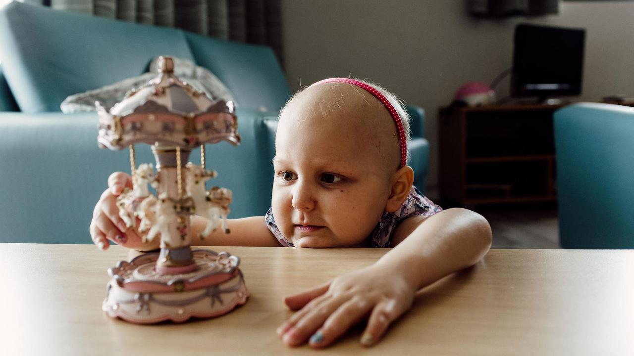 Arianna Baczynski was diagnosed with Leukaemia last year.