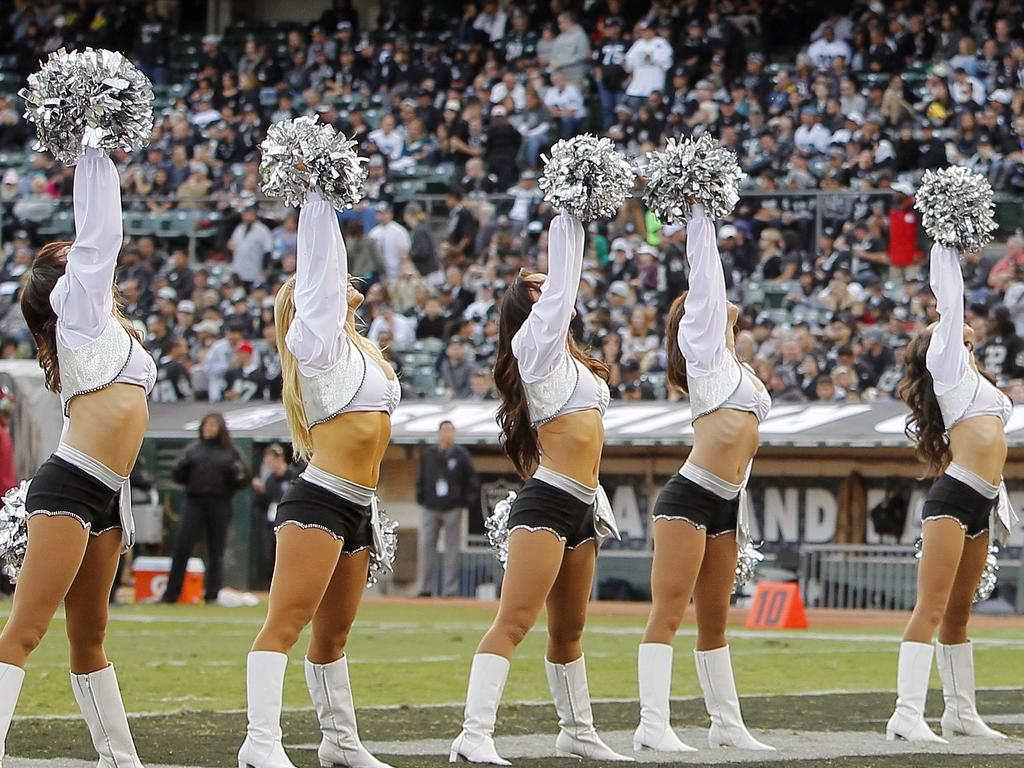 The Oakland Raiders were accused of under-paying cheerleaders.