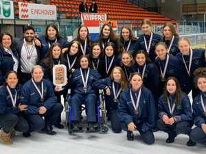 Ballina girl helps ice hockey team win bronze medal