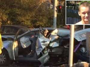 'Floored it': Reckless driver snaps before crash chaos