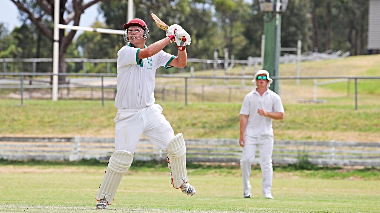 SMASHING IT: Sam Dowie was in fine form for Stanthorpe's representative side on Sunday to help them get over Lockyer Valley.