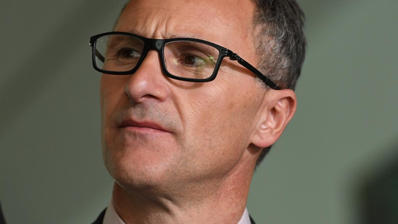 Richard Di Natale is leaving politics. Picture: Tracey Nearmy/Getty Images